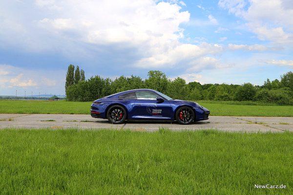 Porsche 992 911 Carrera S Seite