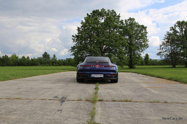 Porsche 992 911 Carrera S Hinten
