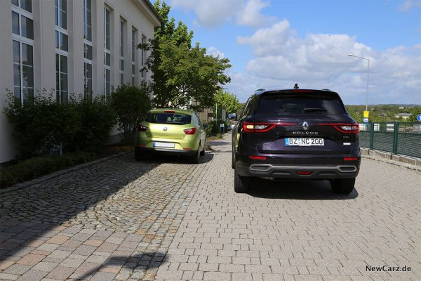 Renault Koleos Test Einparkassistent
