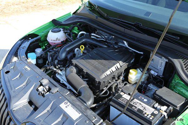 Skoda Fabia 3 Facelift Motor