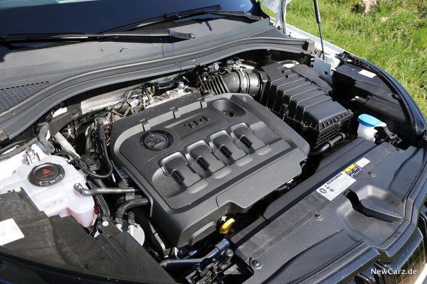Skoda Kodiaq RS Motor