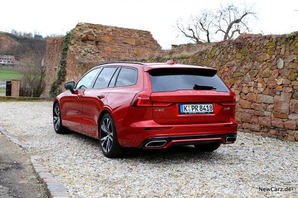 Volvo V60 schräg hinten links