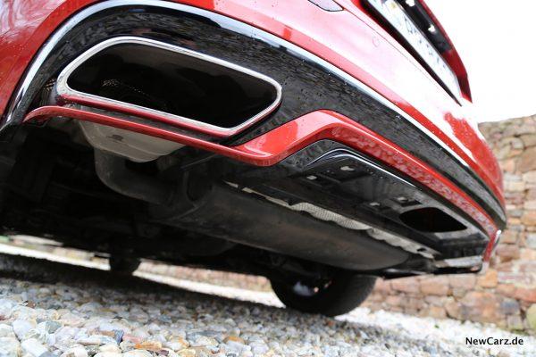 Volvo V60 Endrohre