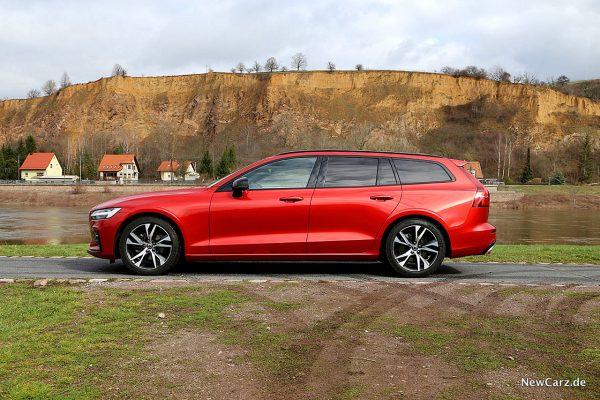 Volvo V60 Seitenlinie