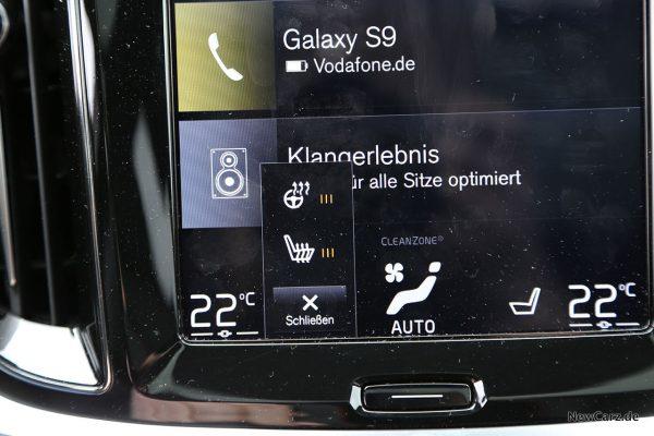 Volvo V60 Sitz- und Lenkradheizung