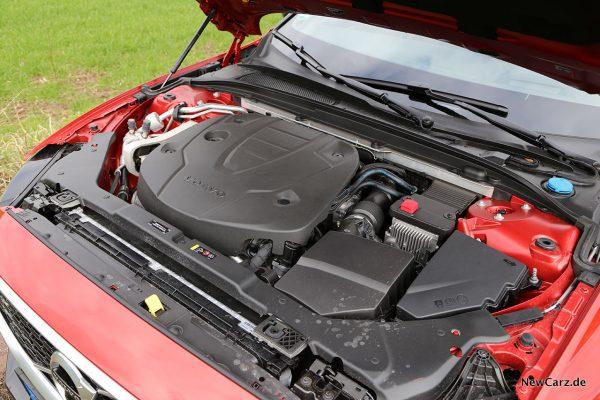 Volvo V60 Motorraum