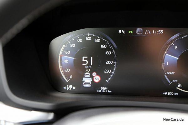 Volvo V60 Tempomat