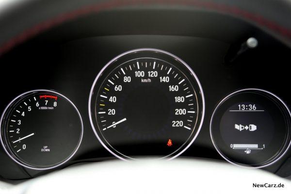 Honda HR-V Sport Kombiinstrument