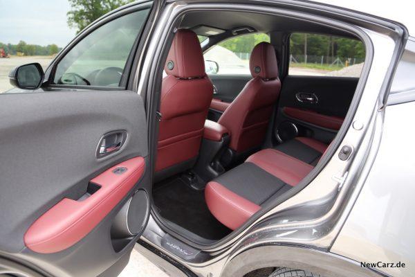 Honda HR-V Sport Innenraum hinten