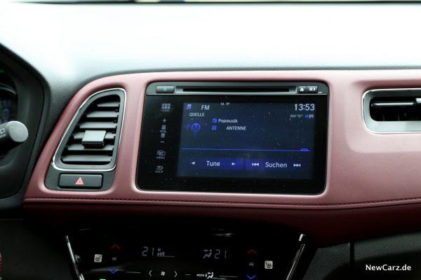 Honda HR-V Sport Infotainment