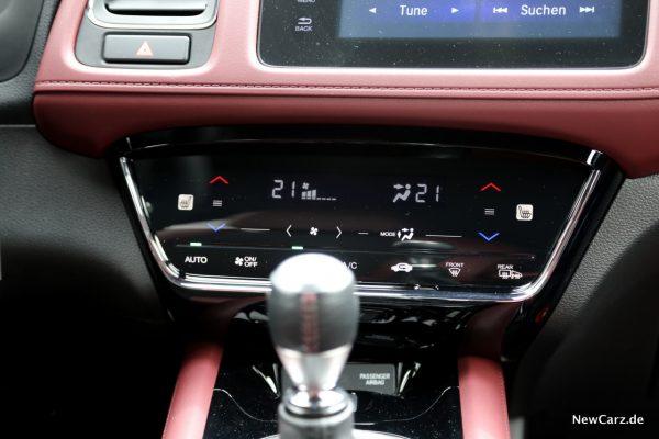 Honda HR-V Sport Klimaanlage