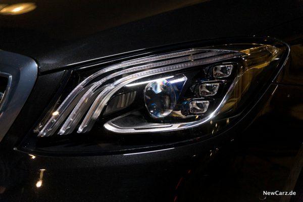 Mercedes-Benz Multibeam LED-Scheinwerfer S-Klasse
