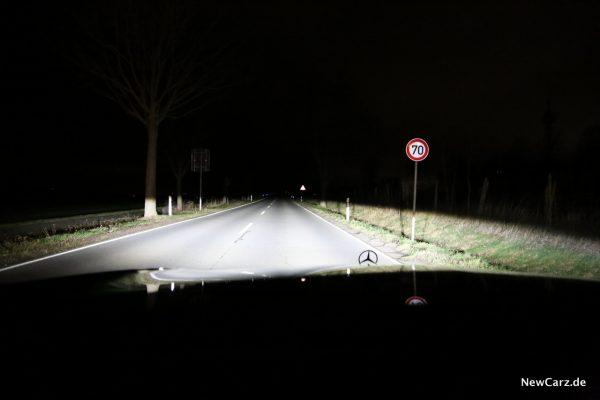 Mercedes-Benz Multibeam LED-Scheinwerfer Abblendlicht