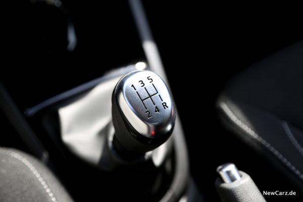 Renault Clio Black&White Schalthebel