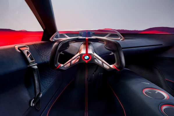 BMW Vision M Next Cockpit