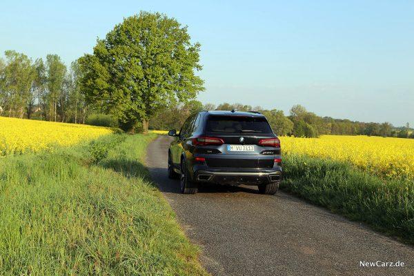 BMW X5 M50d schräg hinten links