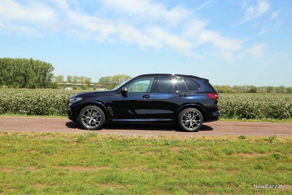 BMW X5 M50d Seite