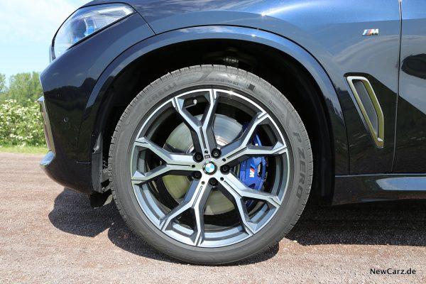 BMW X5 M50d Vorderrad