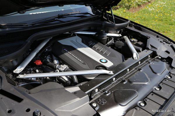 BMW X5 M50d Motor