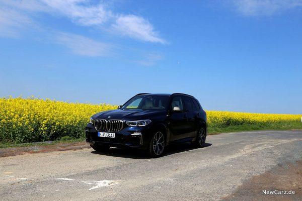 BMW X5 M50d bei Sonnenschein