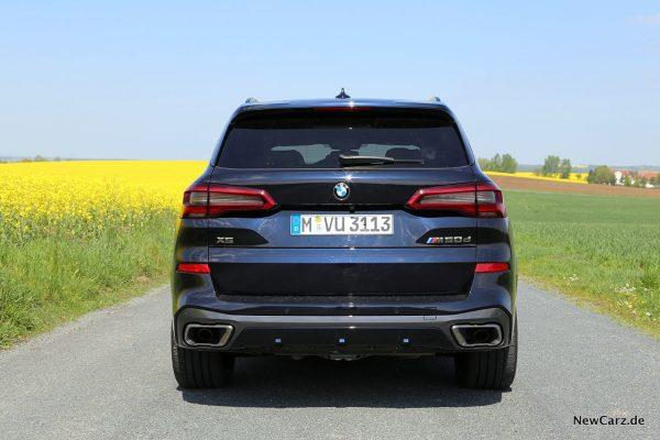 BMW X5 M50d Heck