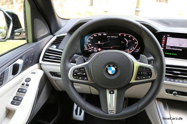 BMW X5 M50d M Sportlenkrad
