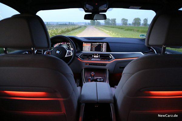 BMW X5 M50d Ambientebeleuchtung