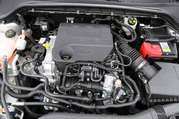 Ford Focus ST-Line Motorraum