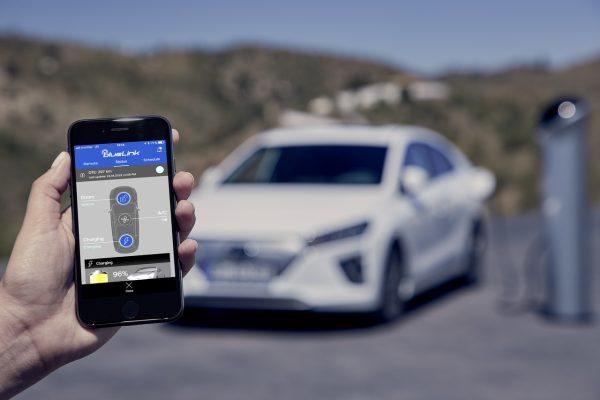 Hyundai Ioniq Elektro 2020 Blue Link