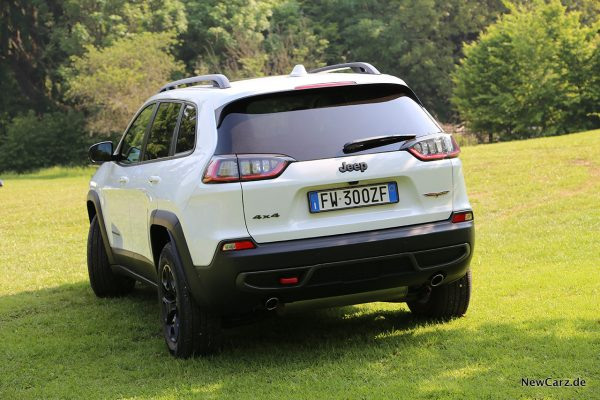 Jeep Cherokee Trailhawk Heck