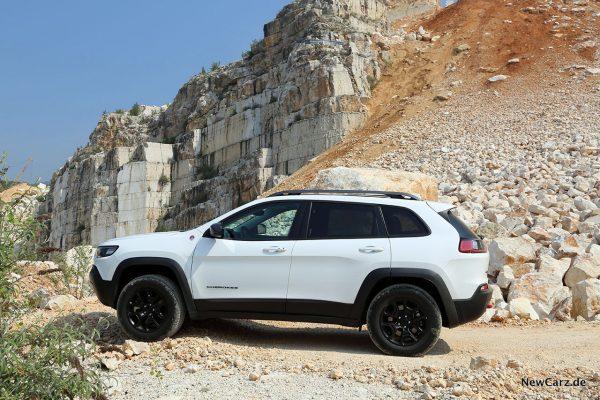 Jeep Cherokee Trailhawk Seite