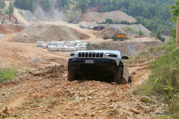 Jeep Cherokee Trailhawk Gelände