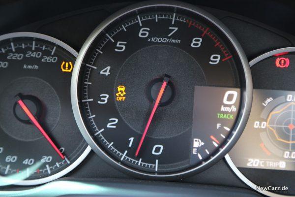 Subaru BRZ ESP Off