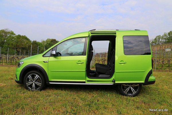 VW Caddy Alltrack Schiebetüren