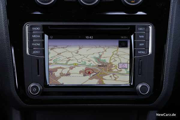 VW Caddy Alltrack Touchscreen