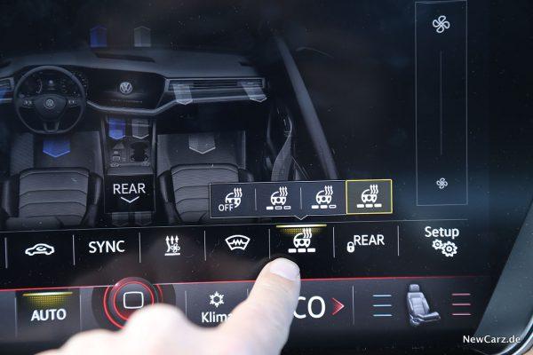 VW Touareg Lenkradheizung