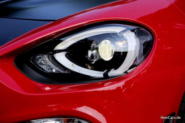 Abarth 124 Spider LED-Scheinwerfer