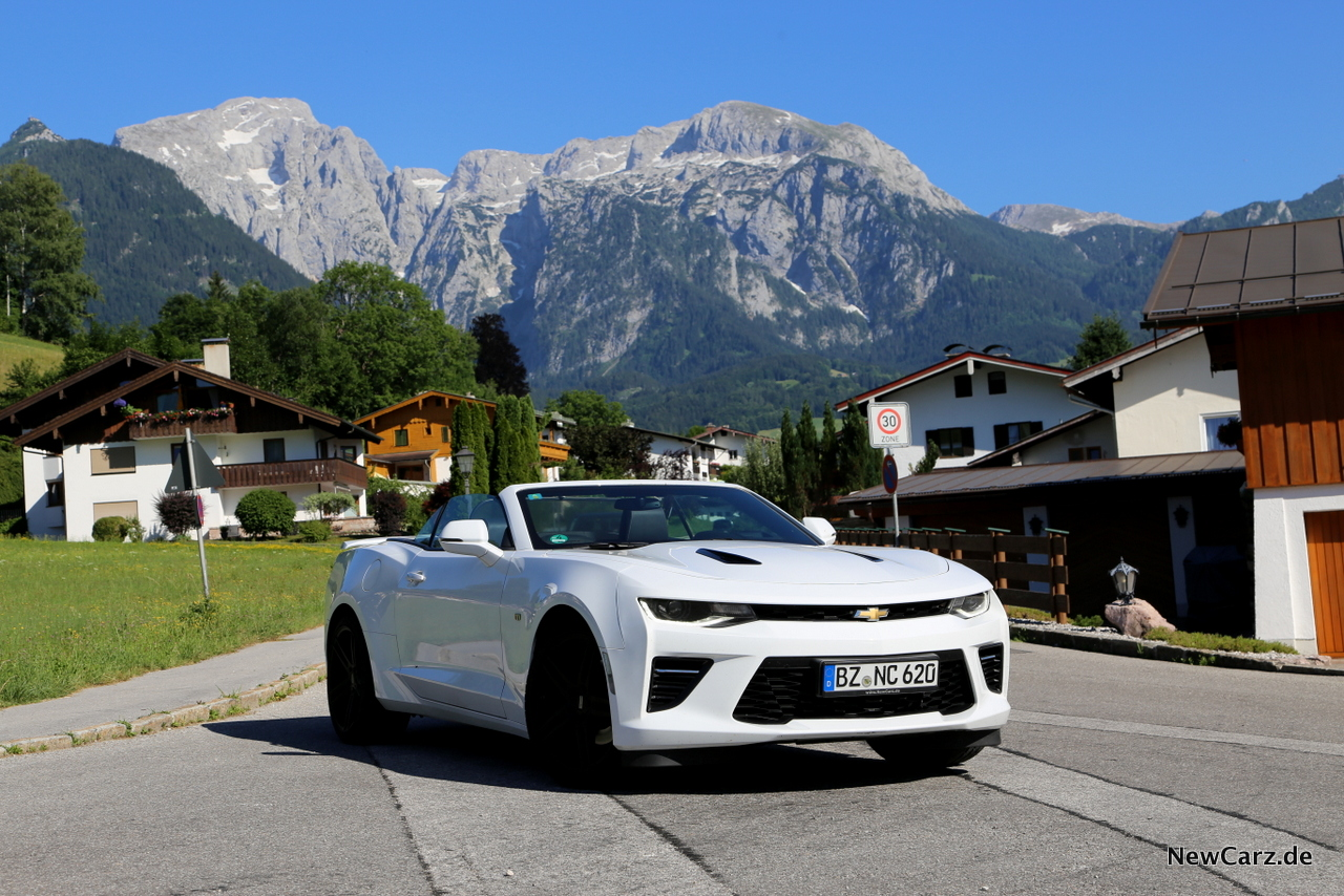 Chevrolet Camaro Cabriolet im Berchtesgadener Land