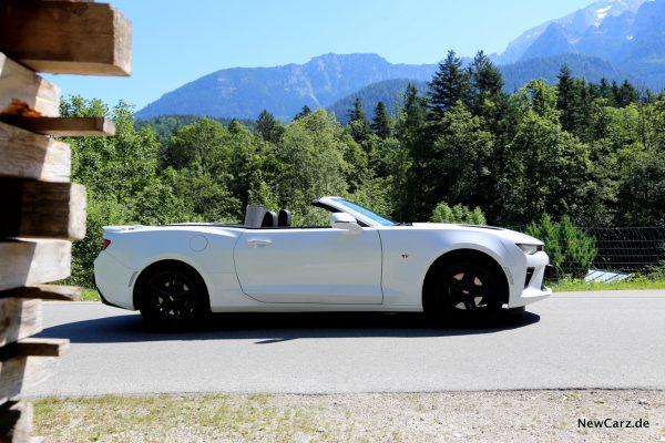 Chevrolet Camaro Cabriolet Seite