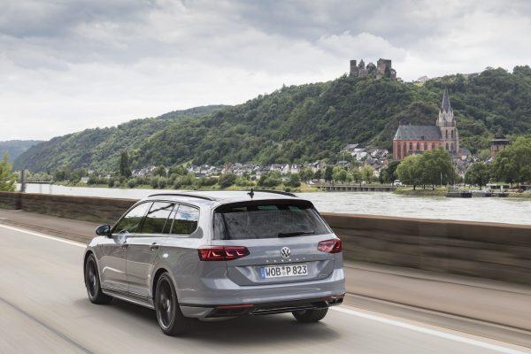 VW Passat Facelift Heck
