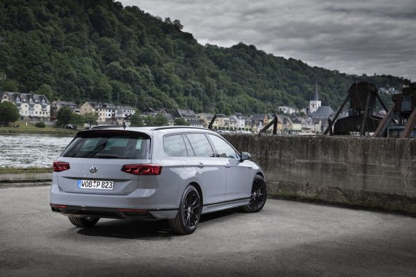 VW Passat Facelift Heckansicht