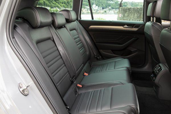 VW Passat Facelift Rückbank