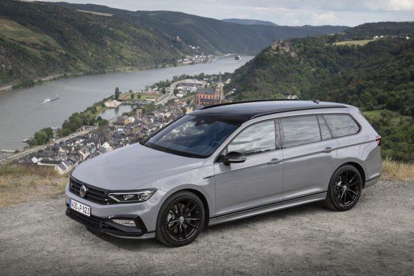 VW Passat Facelift Draufsicht