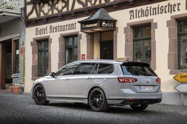 VW Passat Facelift Heck seitlich