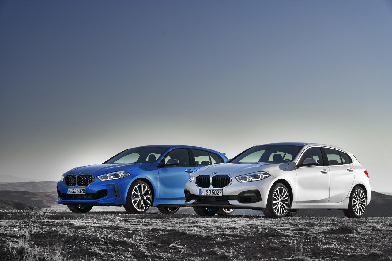 Frontansicht des BMW 1er