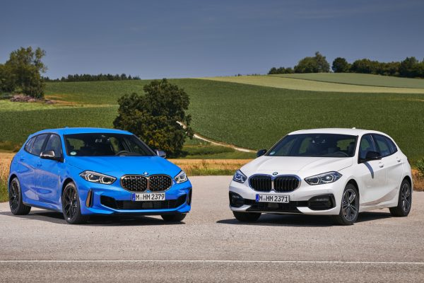 Frpntansicht der BMW 1er Modelle