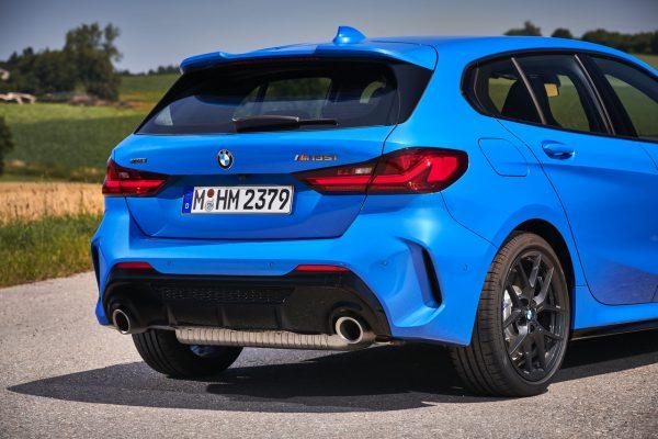 Heckansicht des BMW 1er