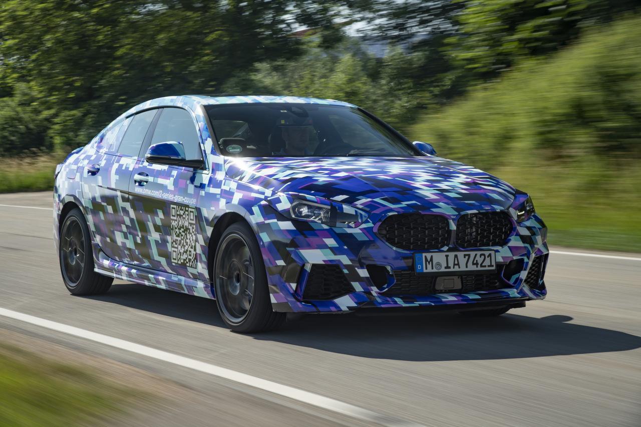 Frontansicht des BMW 2er Gran Coupé