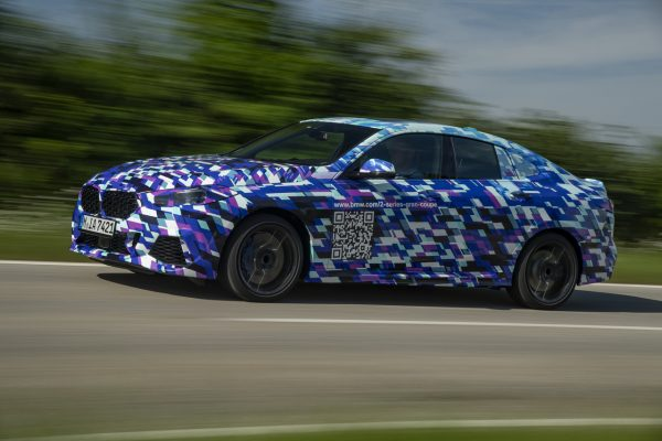 Seitenansicht des BMW 2er Gran Coupé