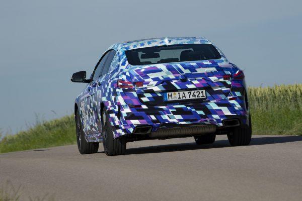 Heckansicht des BMW 2er Gran Coupé